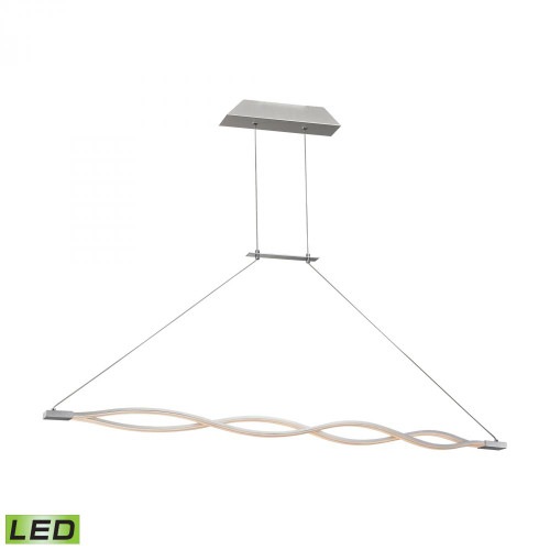 Chandeliers/Pendant Lights By Alico Twist 36 Watt LED Pendant In Aluminum LC1350-10-98