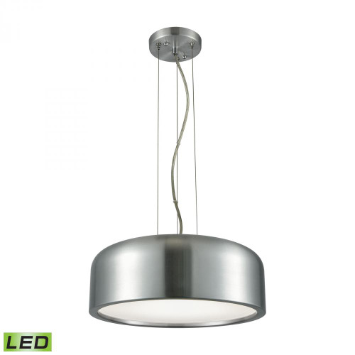 Chandeliers/Pendant Lights By Alico Kore 1 Light LED Pendant In Aluminum With Acrylic Diffuser LC2101-N-98