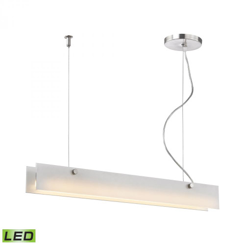Chandeliers/Linear Suspension By Alico Iris 10 Watt LED Pendant In Aluminum LC4020-10-98
