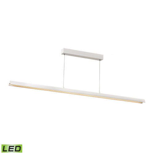 Chandeliers/Linear Suspension By Alico Tent LED Pendant In Matte White LC4200-0-30