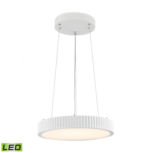 Chandeliers/Pendant Lights By Alico Digby 24 Watt LED Pendant In Matte White LC602-10-30