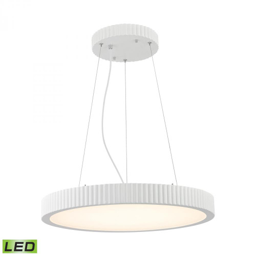 Chandeliers/Pendant Lights By Alico Digby 48 Watt LED Pendant In Matte White LC603-10-30