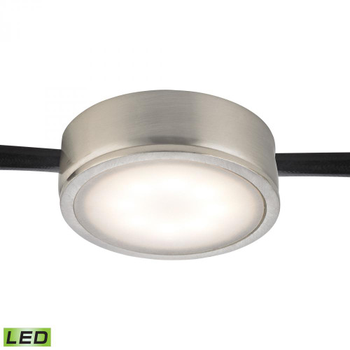 Wall Lights By Alico Tuxedo 1 Light LED Undercabinet Light In Satin Nickel MLE201-5-16M
