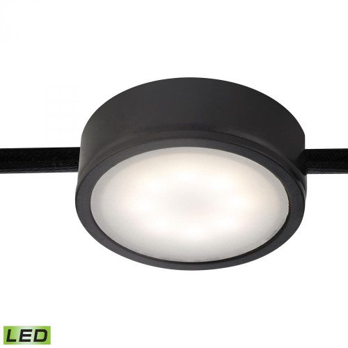 Wall Lights By Alico Tuxedo 1 Light LED Undercabinet Light In Black MLE201-5-31