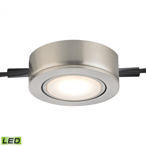 Wall Lights By Alico Tuxedo Swivel 1 Light LED Undercabinet Light In Satin Nickel MLE401-5-16M