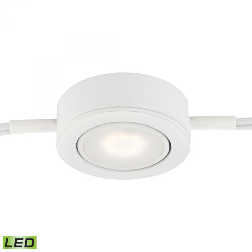 Wall Lights By Alico Tuxedo Swivel 1 Light LED Undercabinet Light In White MLE401-5-30