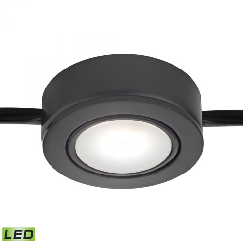 Wall Lights By Alico Tuxedo Swivel 1 Light LED Undercabinet Light In Black MLE401-5-31