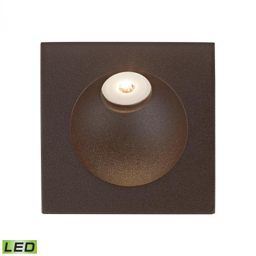 Ceiling Lights/Recessed Lighting By Alico Zone LED Step Light In Matte Brown WSL6210-10-45