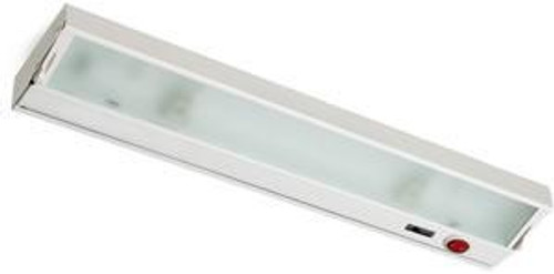 Wall Lights By Alico Zeeline 3 Lamp Xenon Cabinet Light In White With Diffused Glass ZL026RSF