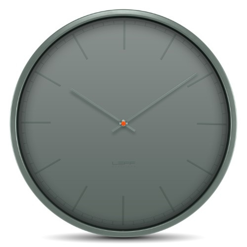 Home Decor By Leff Amsterdam wall clock tone35 grey index