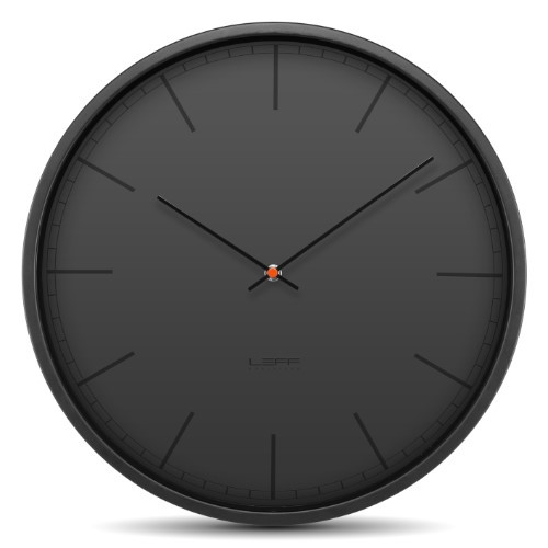 Home Decor By Leff Amsterdam wall clock tone35 black index