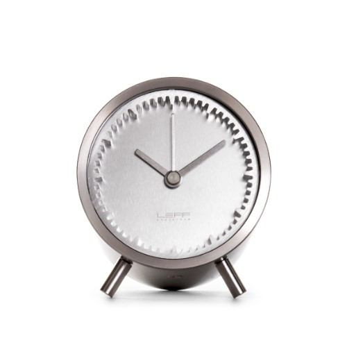 Home Decor By Leff Amsterdam tube clock steel