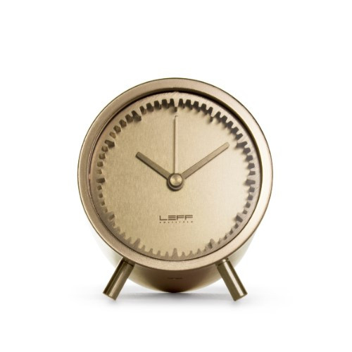 Home Decor By Leff Amsterdam tube clock brass