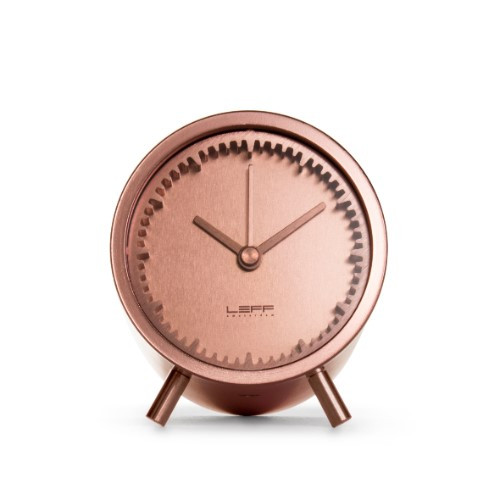 Home Decor By Leff Amsterdam tube clock copper