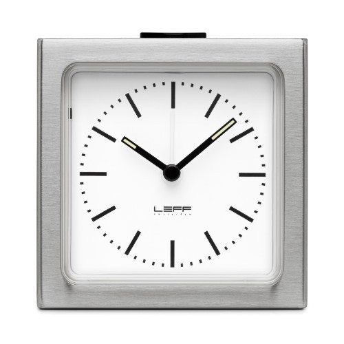 Home Decor By Leff Amsterdam alarm clock block white index