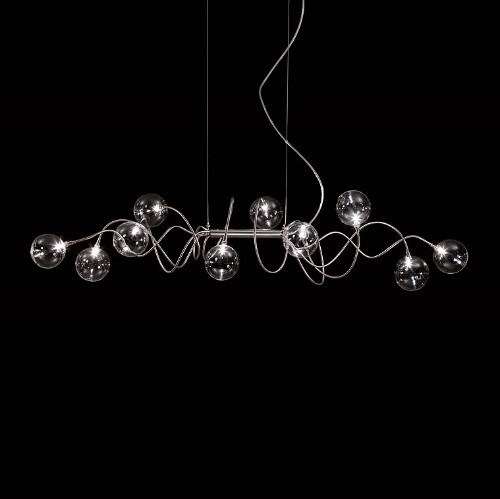 Chandeliers By Harco Loor Big Bubbles Kite Chandelier 10 LED