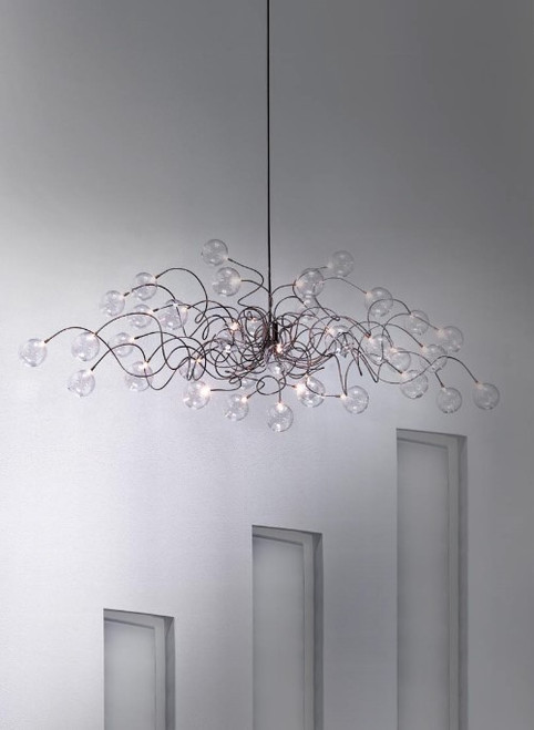 Chandeliers By Harco Loor Big Bubbles Chandelier 35 LED