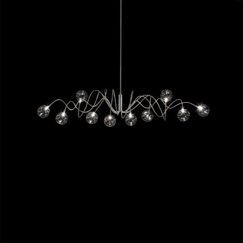 Chandeliers By Harco Loor Big Bubbles Spring Chandelier 10 LED