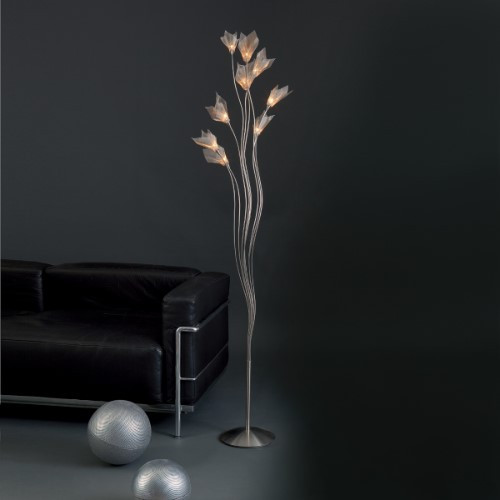 Lamps By Harco Loor Breeze Floor Lamp 9 LED