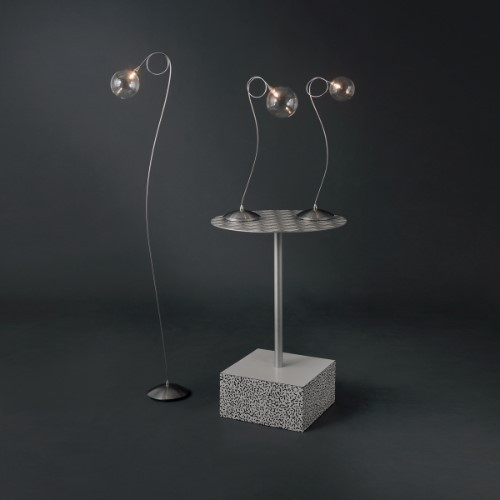 Lamps By Harco Loor Bubbles Table Lamp 1-M LED