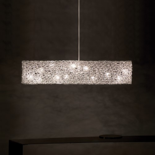 Chandeliers/Linear Suspension By Harco Loor Canoe Chandelier 12