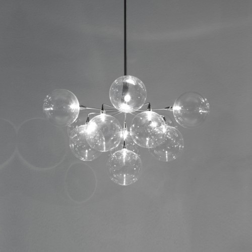 Chandeliers By Harco Loor Cluster Chandelier 11 LED