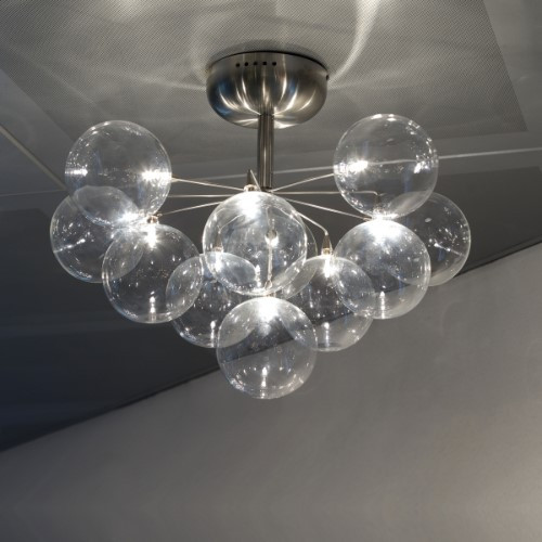 Ceiling Lights By Harco Loor Cluster Semi-Flushmount Ceiling Light 11 LED