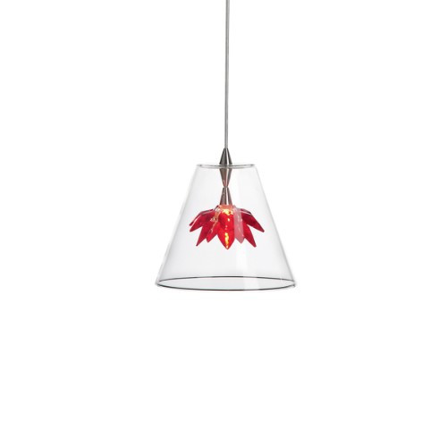 Chandeliers By Harco Loor Flower Red Chandelier 1