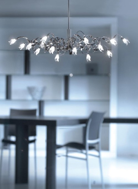Chandeliers By Harco Loor Guirlande Oval Chandelier 15 LED