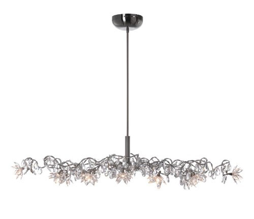 Chandeliers By Harco Loor Jewel Oval Chandelier 12 LED
