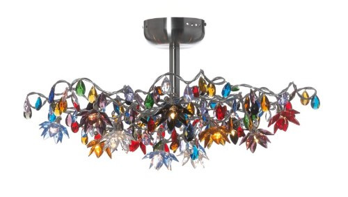 Ceiling Lights By Harco Loor Jewel Semi-Flushmount Ceiling Light 12