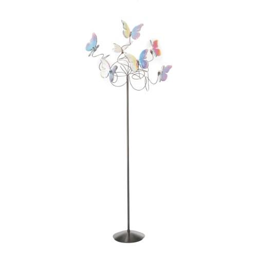Lamps By Harco Loor Papillon IRI Floor Lamp 7 LED
