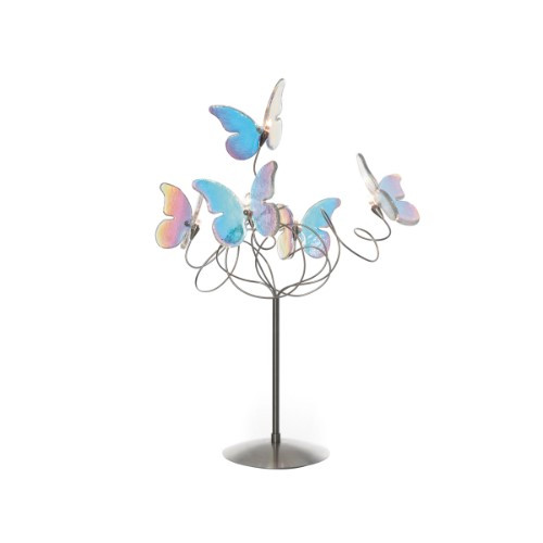 Lamps By Harco Loor Papillon IRI Table Lamp 5 LED