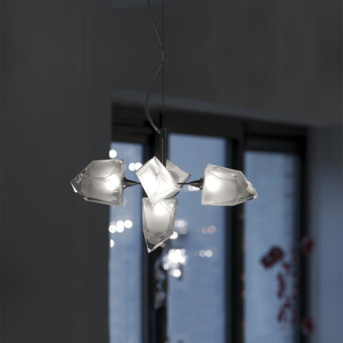 Chandeliers/Mini Chandeliers By Harco Loor Rock Chandelier 5 LED