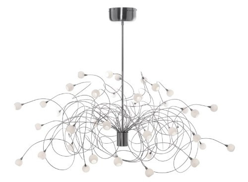 Chandeliers By Harco Loor Snowball Chandelier 40 LED