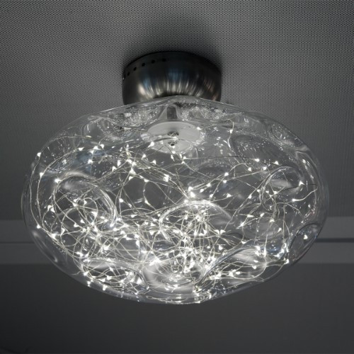 Wall Lights By Harco Loor Stardust Flushmount Ceiling/Wall Light 29 LED