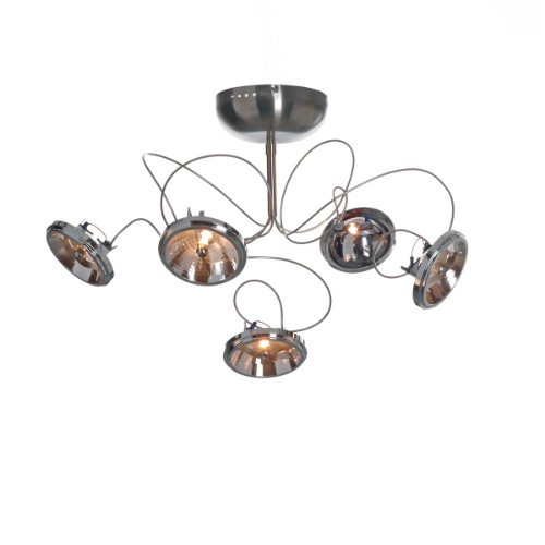 Wall Lights By Harco Loor Target Wall Sconce/Semi-Flushmount Ceiling Light 5 LED