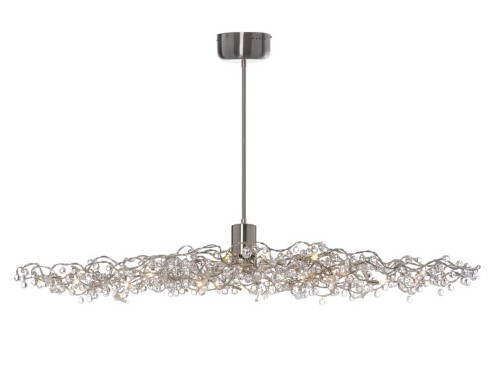 Chandeliers By Harco Loor Tiara Diamond Oval Chandelier24 LED