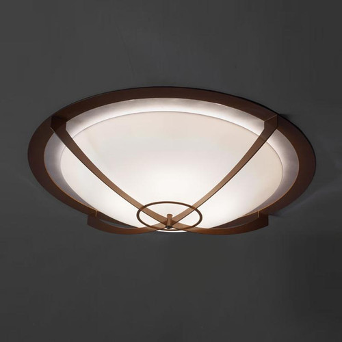 Ceiling Lights By Ultralights Synergy Modern LED Retrofit 39 Inch Flushmount Bowl 480-39