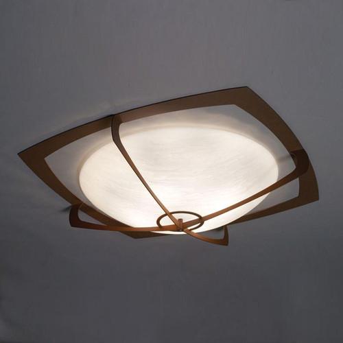Ceiling Lights By Ultralights Synergy Modern LED Retrofit 31 Inch Flushmount Bowl 490-31