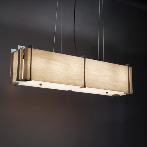 Chandeliers/Linear Suspension By Ultralights Genesis Modern LED Retrofit Pendant Light 11207