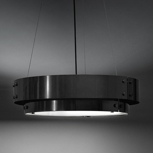 Chandeliers/Pendant Lights By Ultralights Invicta Modern Incandescent Drum Shade 60 Watt Pendant 16356-24