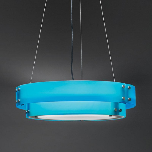 Chandeliers/Pendant Lights By Ultralights Invicta Modern LED 36 Inch 54 Watt Pendant Drum Shade 16357-36