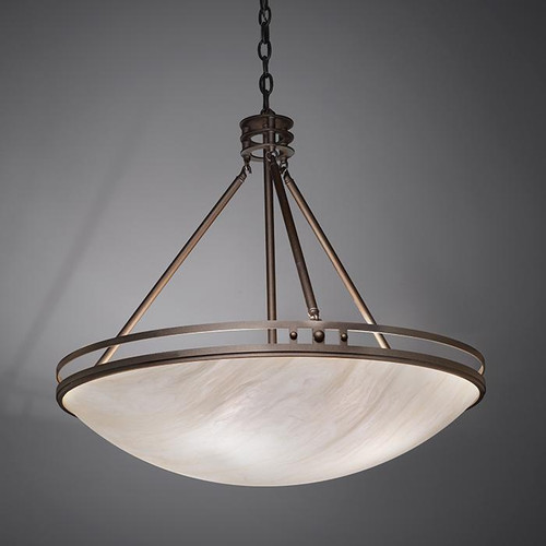 Chandeliers/Pendant Lights By Ultralights Compass Modern LED 24 Inch Pendant Light Down Light 9924-24