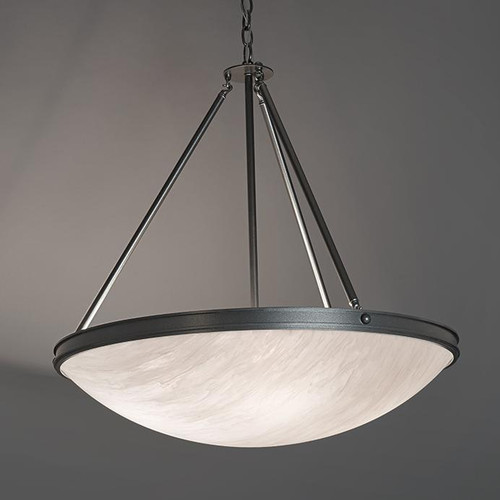 Chandeliers/Pendant Lights By Ultralights Compass Modern LED Retrofit 48 Inch Pendant Light Down Light 9925-48