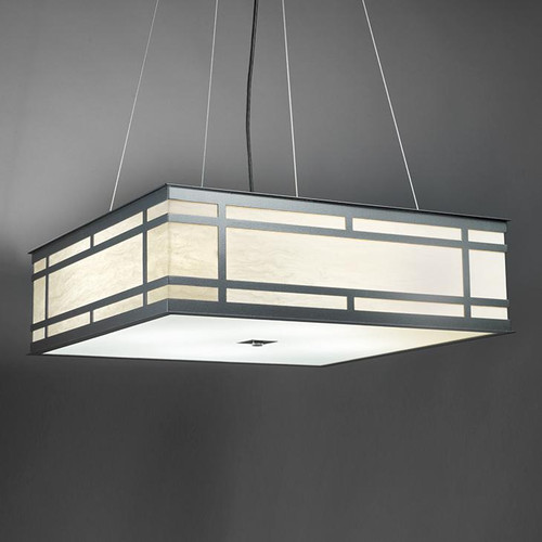 Chandeliers/Pendant Lights By Ultralights Tambour Modern LED Retrofit 48 Inch Pendant Light Down Light 13227-48