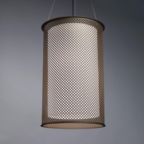 Chandeliers/Pendant Lights By Ultralights Clarus Modern LED Drum Shade Pendant Light 14306-CL