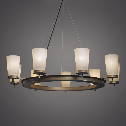 Chandeliers By Ultralights Radius Modern Incandescent Up Light Chandelier 15345