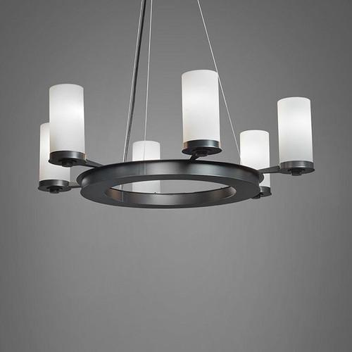 Chandeliers By Ultralights Radius Modern LED Retrofit Up Light Chandelier 15347