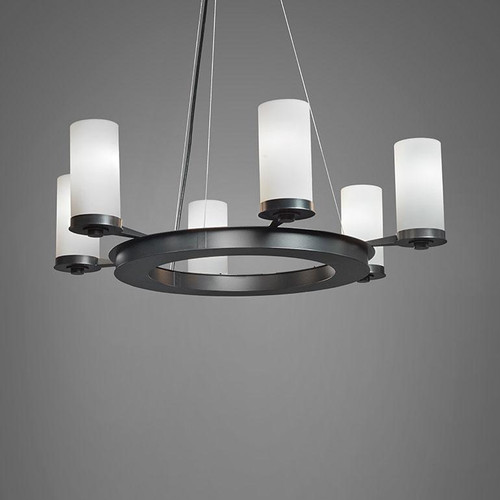 Chandeliers By Ultralights Radius Modern Incandescent Up Light Chandelier 15347